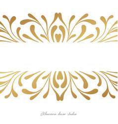 Elegant card design witn hand drawn elements vector