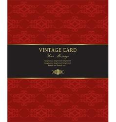 Goldredcard vector