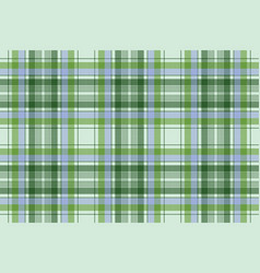green plaid pixel seamless fabric texture vector image