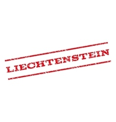 Liechtenstein Watermark Stamp vector image
