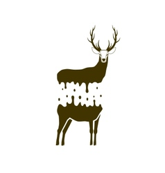 Split deer vector
