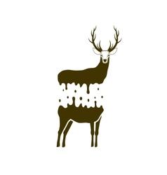 Split deer vector