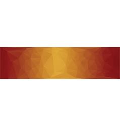 horizontal web banner vector image vector image
