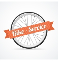 bike service card vector image vector image