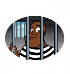 prisoner vector image vector image