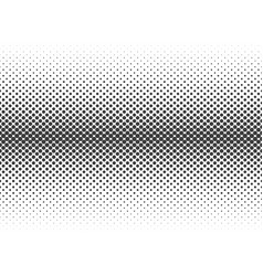 abstract halftone black dots isolated on white ba vector image