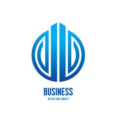 Abstract logo template concept vector