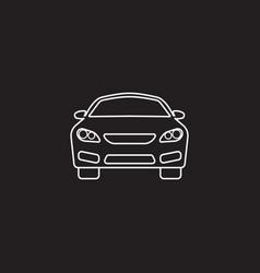 Car icon automobile symbol graphics vector