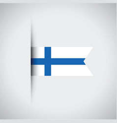 Finland flag vector
