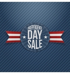 Independence Day Sale circle Tag vector image