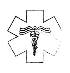medical symbol icon vector image