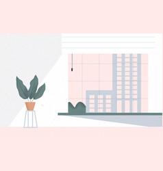 Modern interior office room coworking creative vector