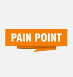 Pain point vector