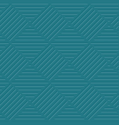 Sea green line background vector