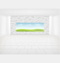 tile floor background vector image