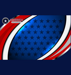 america flag backgrounds color vector image vector image