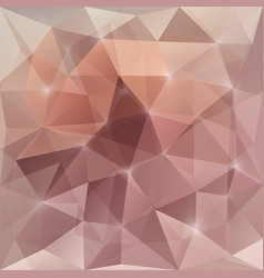 abstract background with triangular mosaic vector image vector image