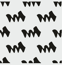 seamless abstract background monochrome pattern vector image