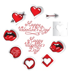 set love vector image vector image