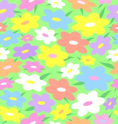 Texture of flowers vector image vector image