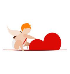 angel of love vector image