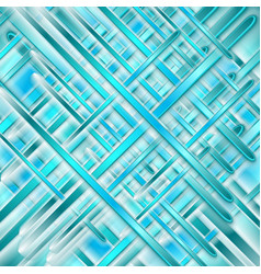 blue turquoise glossy stripes abstract background vector image