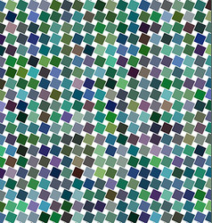 Colorful angular square pattern background vector