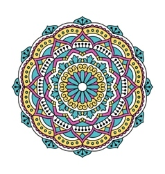 Mandala Ornamental round pattern vector