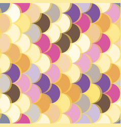 paper scales seamless squama colourful vector image