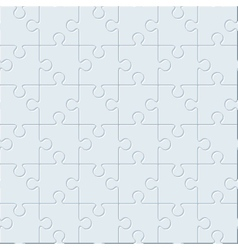 Puzzles Seamless pattern vector image