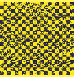 seamless sport flag yellow background vector image