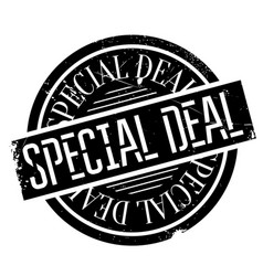special deal rubber stamp vector image