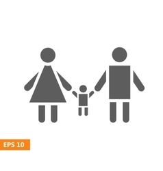 Family Icon vector image