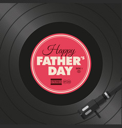 vinyl-fathers-day-two vector image vector image