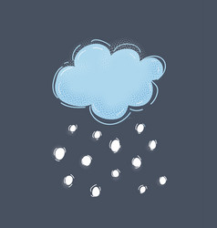 Cool single weather icon vector