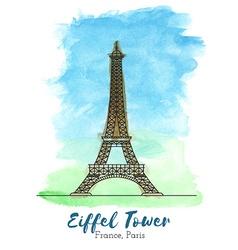 European landmark vector image