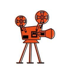 Film projector icon image vector