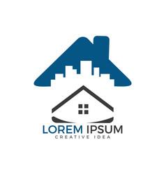 Home logo design vector