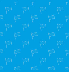 lgbt pride flag pattern seamless blue vector image