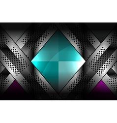 Luxury metallic backgrounds vector