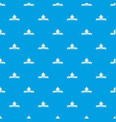 measurement cube pattern seamless blue vector image