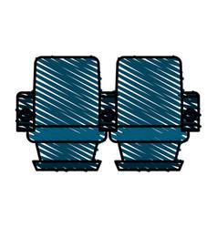seats icon image vector image