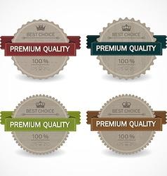 set sale badges vector image
