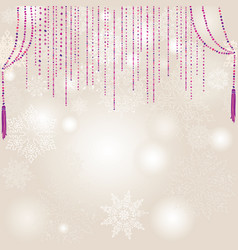 Snow blur pattern christmas winter holiday snowy vector