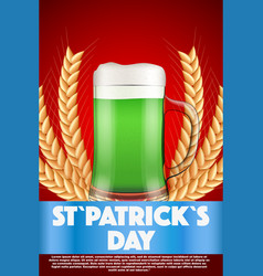 Saint patricks day invitation vector