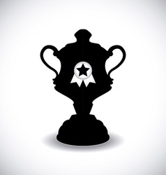 trophy design vector image