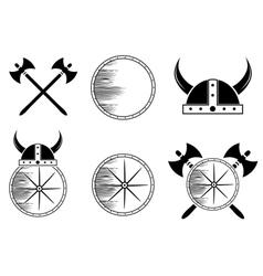 Viking set vector