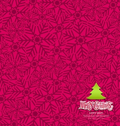 Snow flakes texture design on pink background vector image vector image