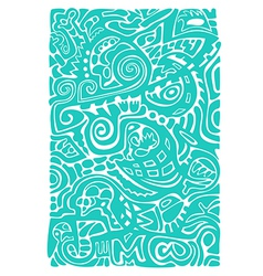 Abstract mosaic pattern vector