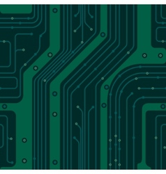 Circuit board pcb vector